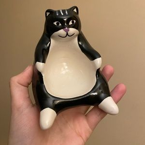 Urban Outfitters Ceramic Cat Jewelry Dish
